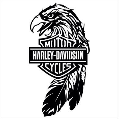 Harley Davidson clipart wing  Logo Free Art Clip