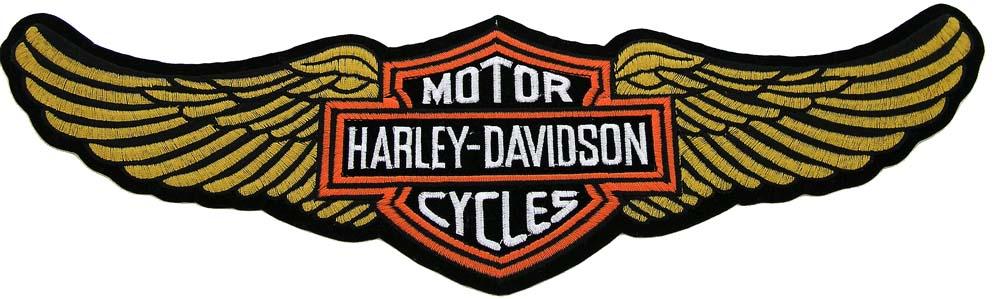 Harley Davidson clipart wing #14