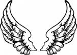 Harley Davidson clipart wing #10