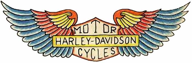 Harley Davidson clipart wing Art Tattoos Free Download Free