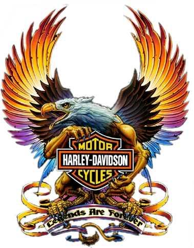 Harley Davidson clipart wing #15