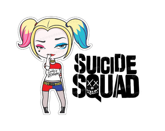 Harley Quinn clipart Harley Illustration of BBCpersian7 Sticker