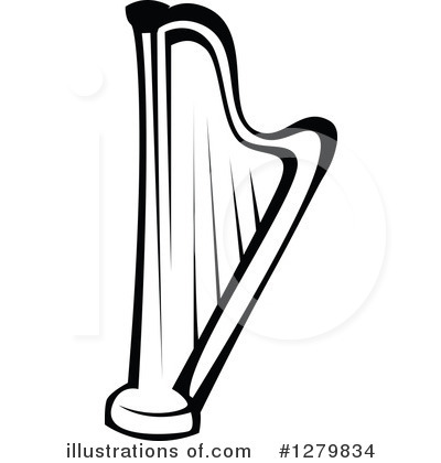 Harp clipart Sample SM Clipart Tradition Vector