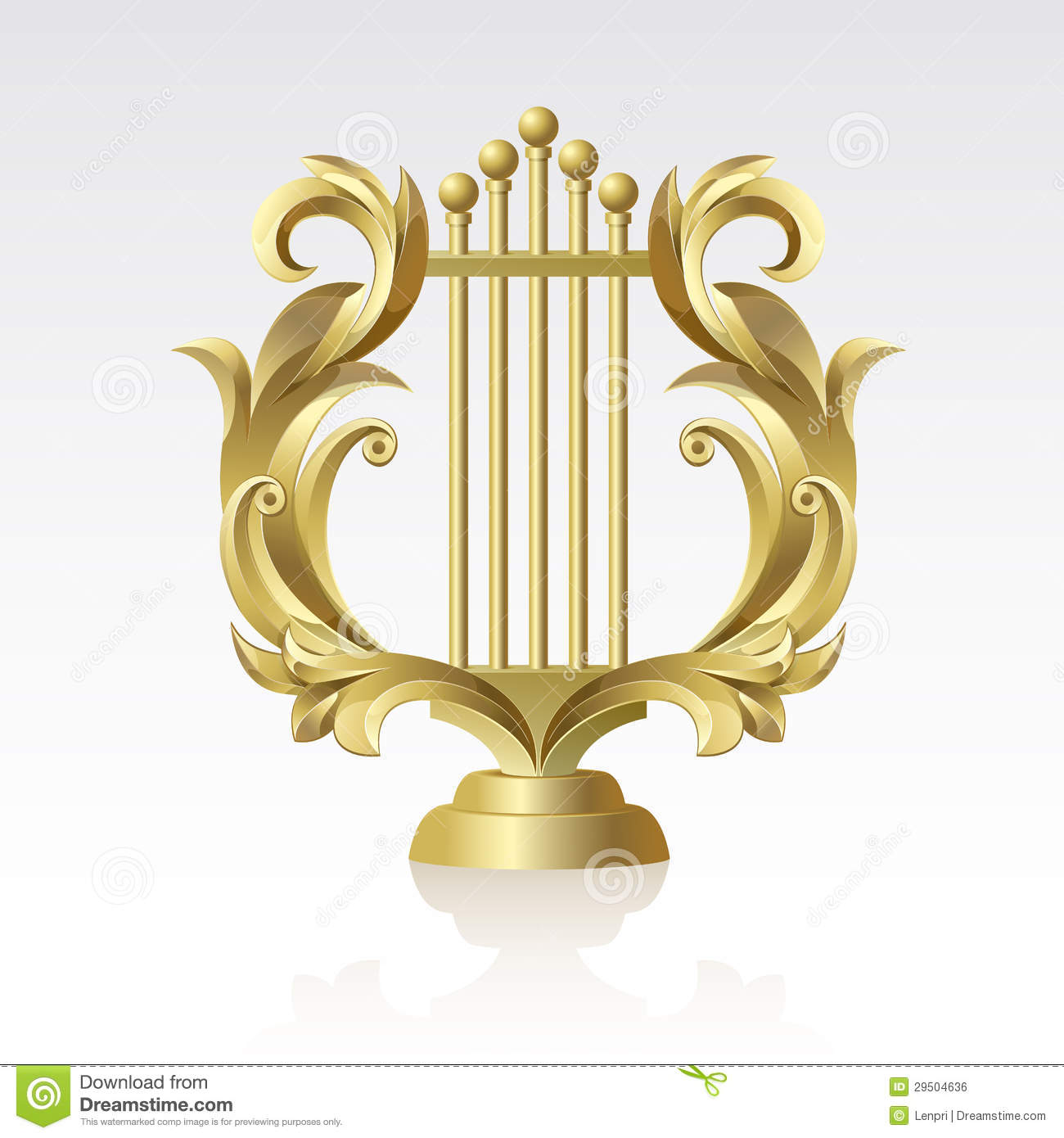 Harp clipart apollo lyre Lyre music and Apollo Tattoo