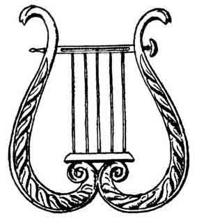 Harp clipart apollo lyre Lyre Pie Vectors & Apollo