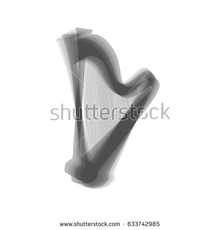 Harp clipart black and white Images Free Harp Royalty collection
