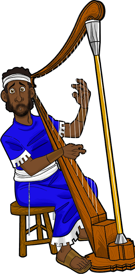 Harp clipart david's For Clip his VBS David
