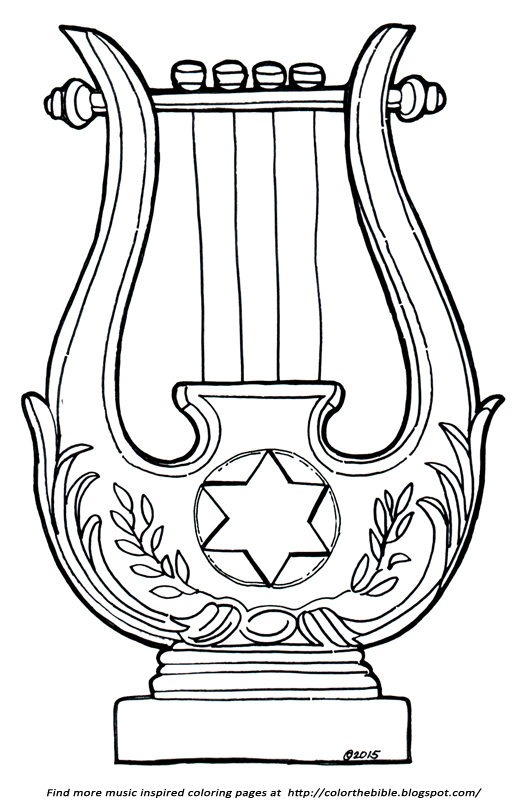 Harp clipart david's David Description David's Israel is