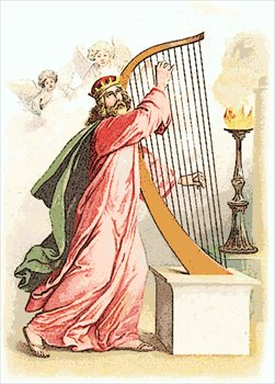 Harp clipart david's Clipart David Free Praising God