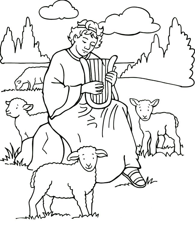 Harp clipart david's Bible: David about David 77