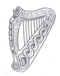 Harp clipart guinness Harp Pinterest Symbols Harp Symbol