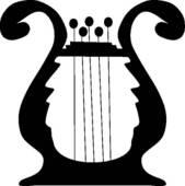 Harp clipart hand Free Shamrocks Harp Art and