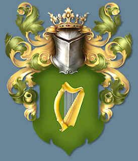 Harp clipart heraldic Examples of symbols heraldic harp