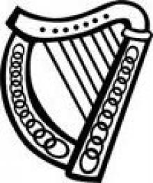 Harp clipart heraldic Harp  British Bindings Armorial