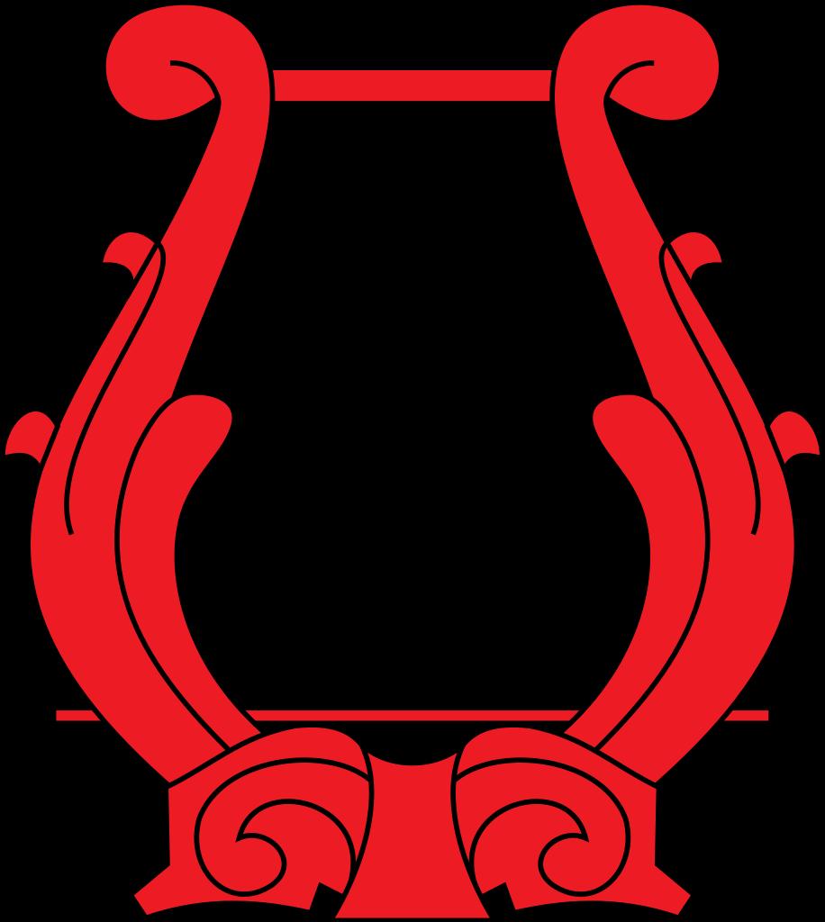 Harp clipart heraldic Svg Wikimedia lyre File:Heraldic svg