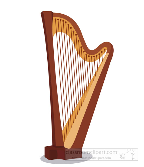 Stringed harp Musical Pictures From: