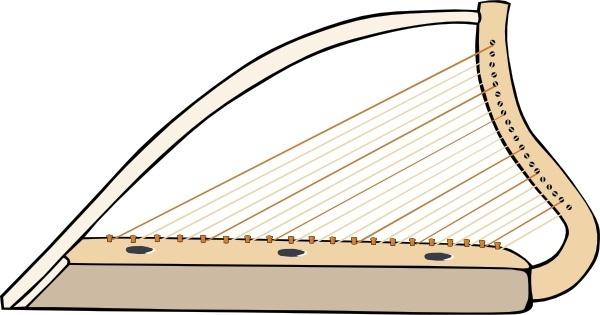 Harp (42 download vector Free