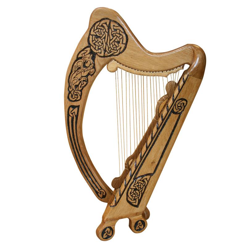 Harp clipart irish harp Download harp clipart Irish ClipartBarn
