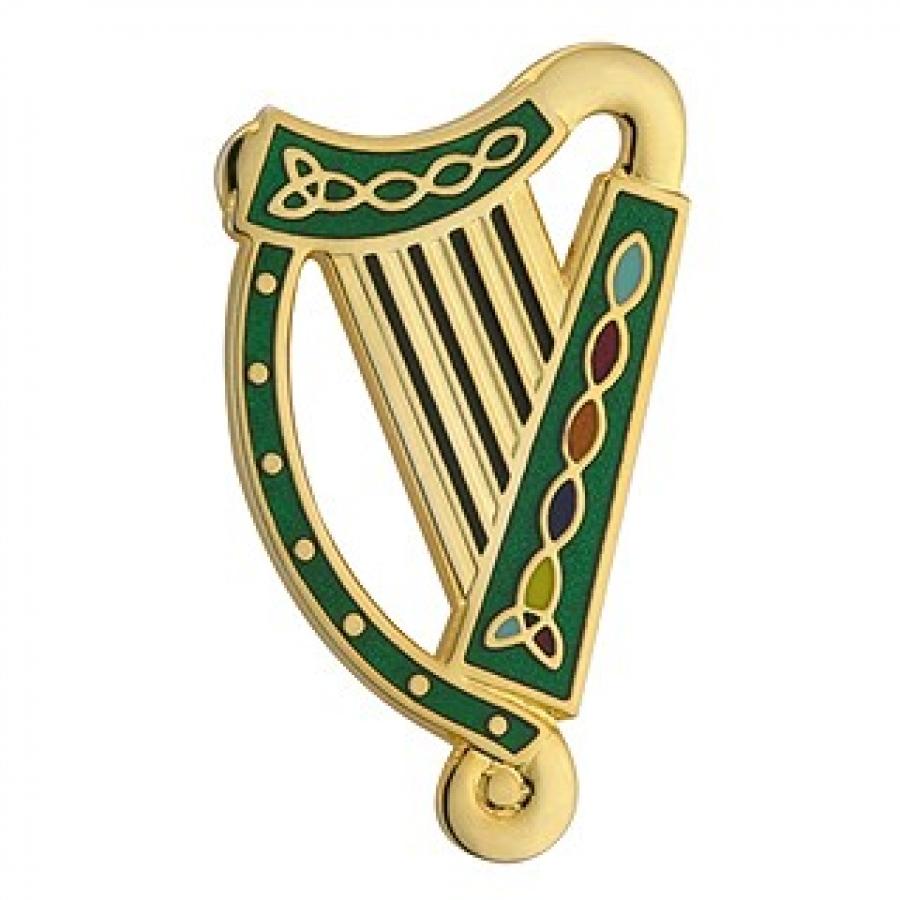 Harp clipart irish harp Green Mini Cliparts The Clipart