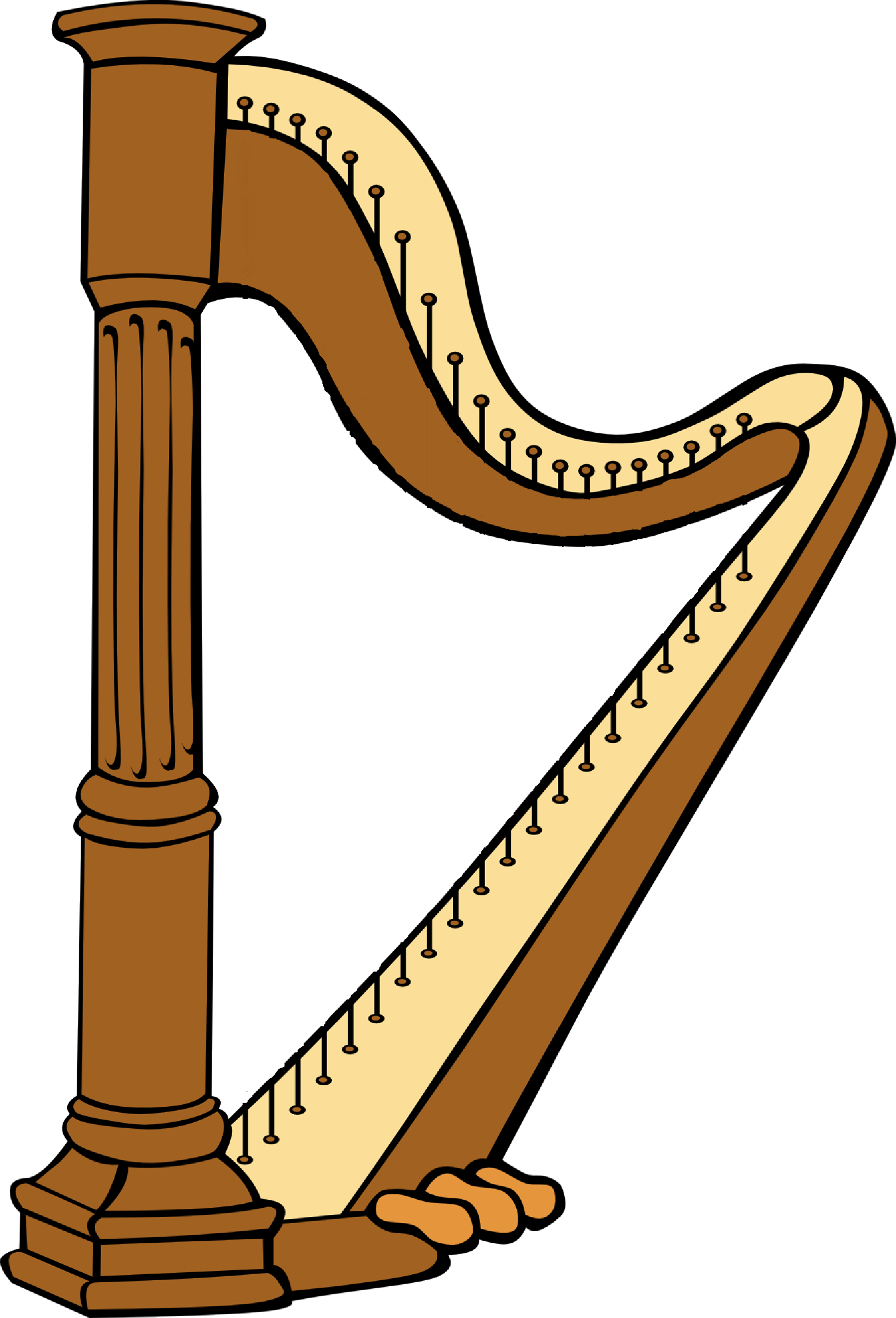 Harp clipart jack and the beanstalk With Beanstalk and used threading