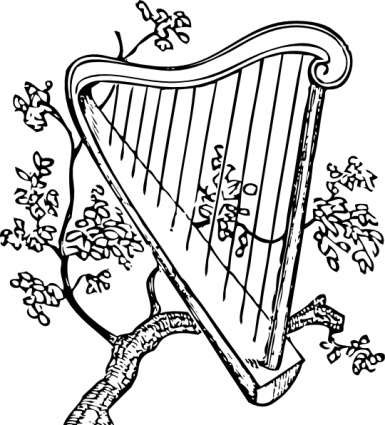 Harp clipart magic ClipartBarn Gold clipart clipart Download