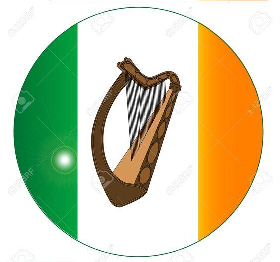 Harp clipart roman Woad Dubh Romans Romans Ireland