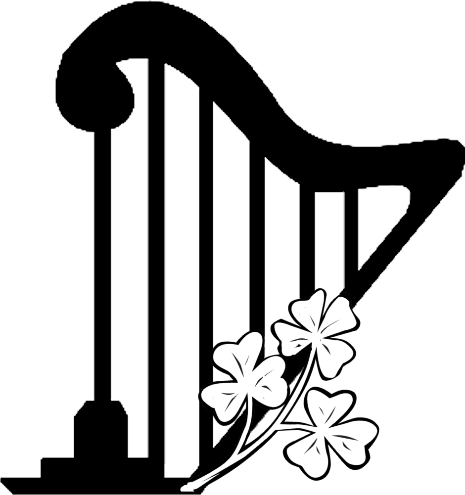 Harp clipart simple #14
