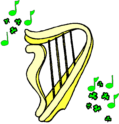Harp clipart simple #10