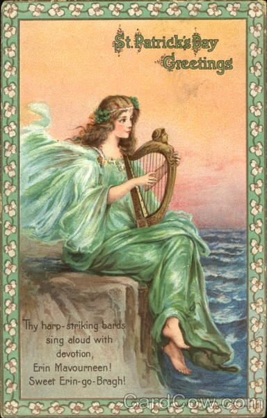 Harp clipart st patricks day Patrick's best on Saint Greetings