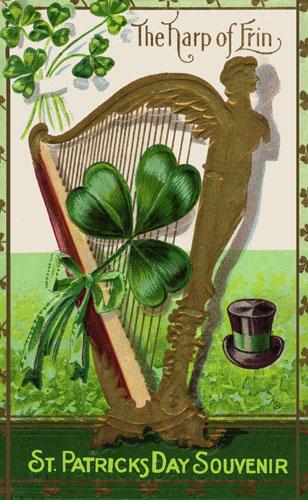 Harp clipart st patricks day Patrick's Erin PATRICK'S Harp Harp