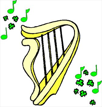 Harp clipart st patricks day Free Clipart Photos Clipart Images