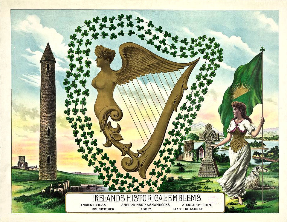Harp clipart st patricks day St Art 3 Archives Day