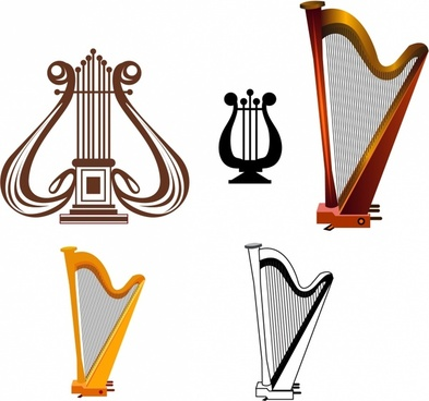 Harp clipart wind instrument Musical download free clip 489