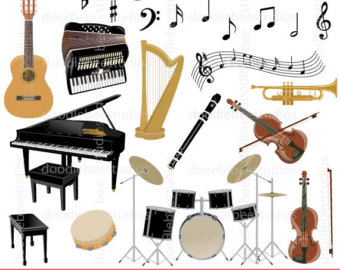 Harp clipart wind instrument Art Piano Clipart Clipart Musical