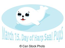 Harp Seal clipart Vector Illustrations clipart Clip Vector