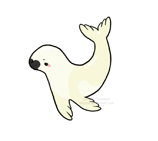 Harp Seal clipart Seal Telucea Pup by Pup