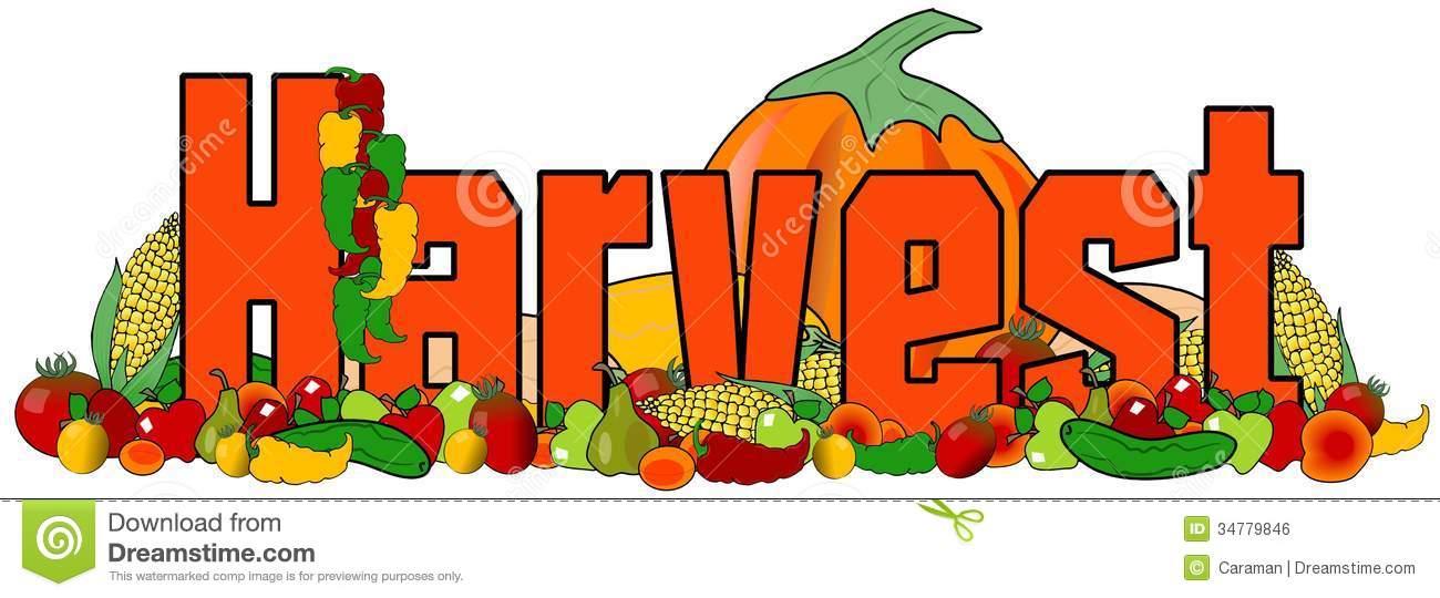 Harvest clipart Harvest festival Harvest Festival Words
