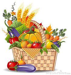 Harvest clipart  Autumn Harvest Clipart