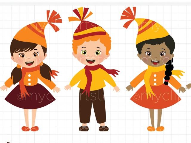Harvest clipart autumn kid / / / Happy Harvest