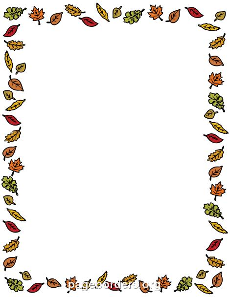 Harvest clipart border Fall and Border: Graphics Art