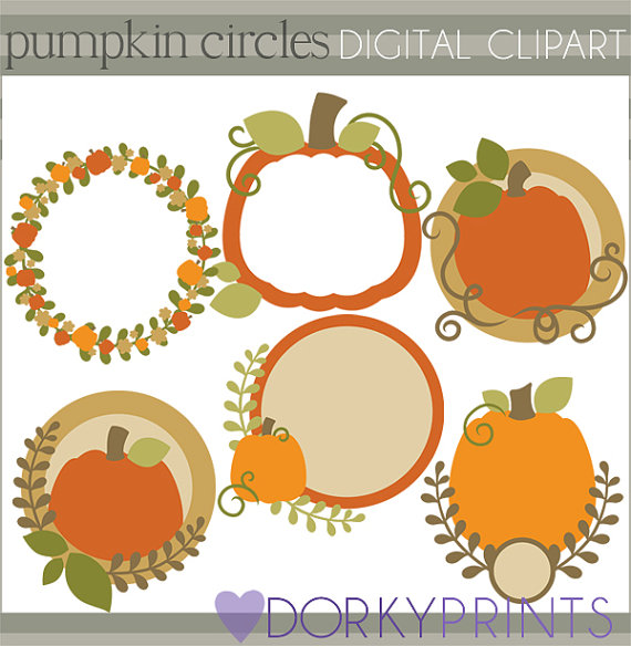 Harvest clipart colorful frame Frames Frames and and Pumpkin