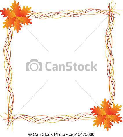 Harvest clipart colorful frame Csp15475860 Art Harvest Frame Harvest