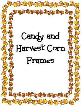 Harvest clipart colorful frame A corn Creative on harvest