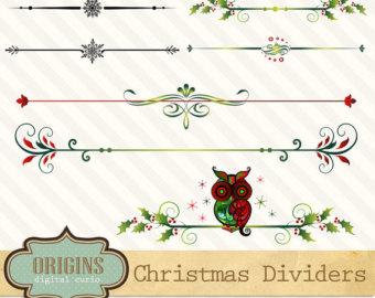 Harvest clipart divider Christmas art Etsy dividers Page