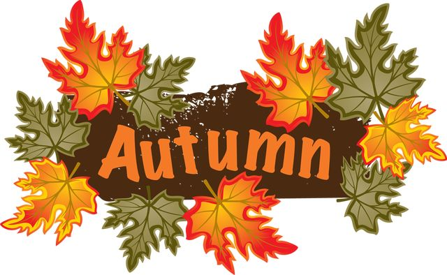 Leaves clipart fall season Autumn season Weather  Clip