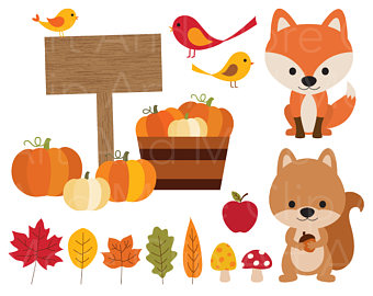 Harvest clipart fall weather Pumpkin Commercial Sun Clipart Leaves