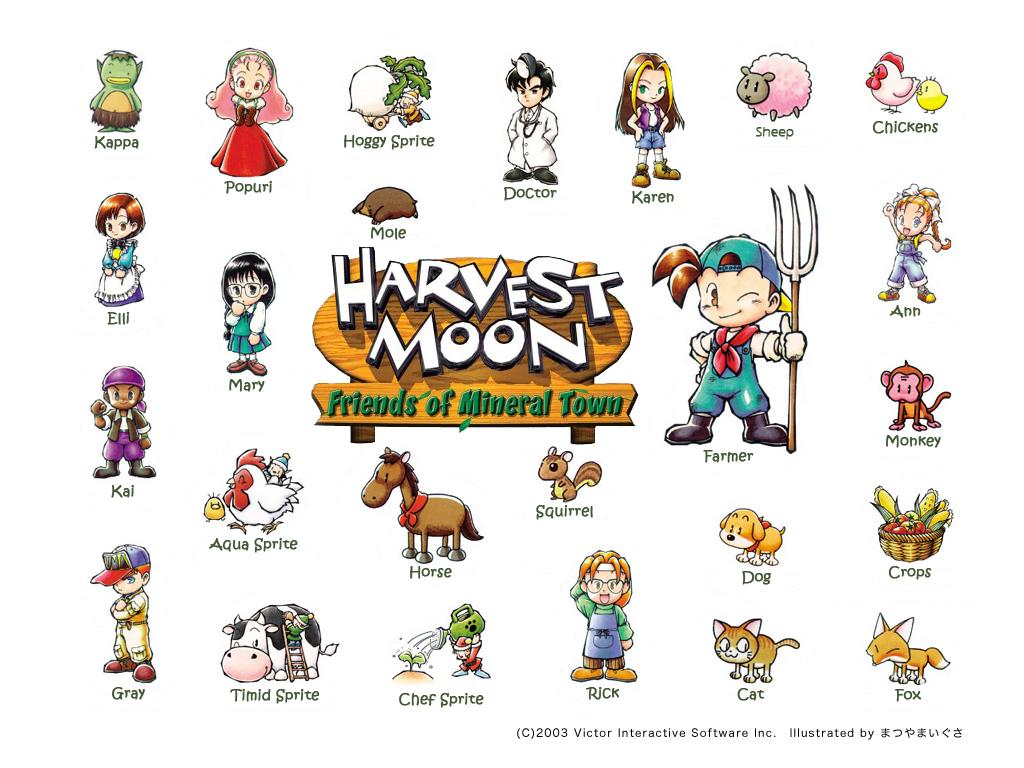 Moon(game) Harvest HARVEST MOON (US)