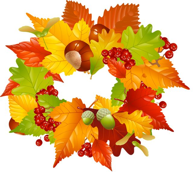 Leaves clipart fall season Colorful Clip Fall images Clip