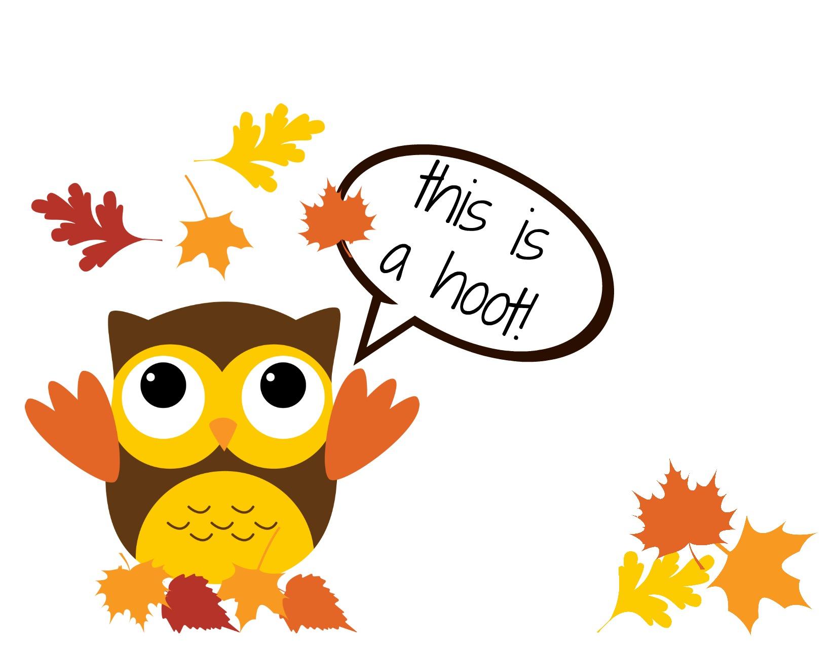 Owl clipart pilgrim Art Zone owl Owl Cliparts
