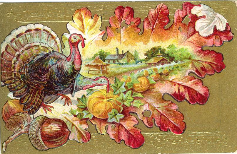 Harvest clipart vintage / FIREY THANKSGIVING HALLOWEEN CLIP